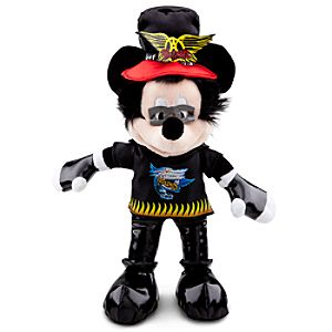 Rock and Roll Mickey Mouse Plush -- 13