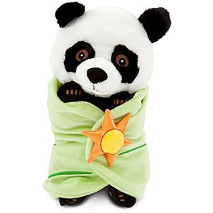 Disneys Babies Panda Bear Plush with Blanket -- 10