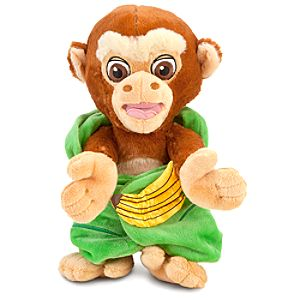 Disneys Babies Monkey Plush with Blanket -- 10 H