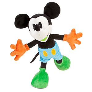 Poseable Mickey Mouse Plush -- 12
