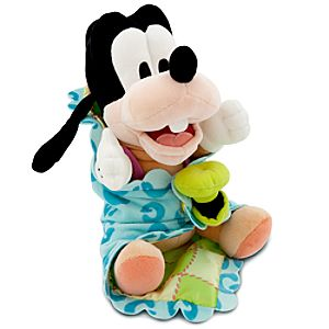 Disneys Babies Goofy Plush with Blanket -- 10