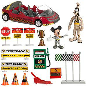Epcot Test Track Action Play Set