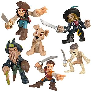 Disney Heroes Pirates of the Caribbean Figure Play Set -- 6-Pc.