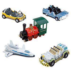 Walt Disney World Thrill Rides Die Cast Vehicle Set -- 5-Pc.