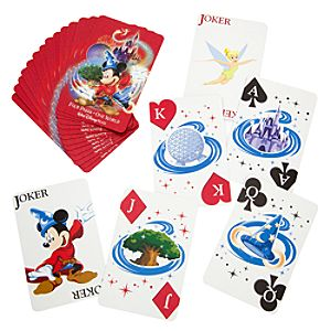 Four Parks, One World Walt Disney World Playing Cards