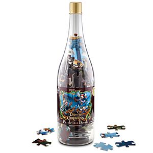 Pirates of the Caribbean Mickey Mouse Puzzle in a Bottle