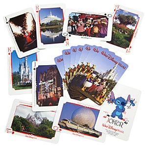 Walt Disney World Resort Playing Cards