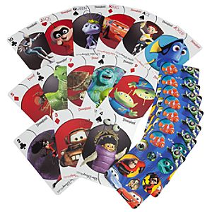 Jumbo Disney Pixar Playing Cards