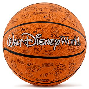Walt Disney World Mickey Mouse Basketball