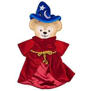 Duffy the Disney Bear Sorcerer Mickey Costume -- 17 H