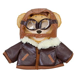 Duffy the Disney Bear Aviator Costume -- 17 H