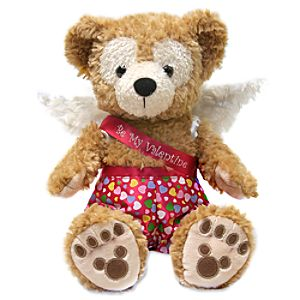 Be My Valentine Duffy the Disney Bear Plush Toy -- 12 H