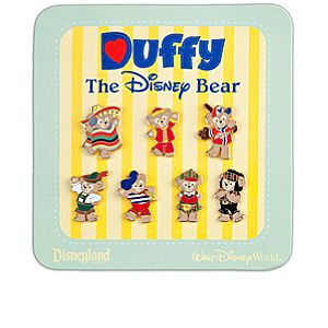 Duffy the Disney Bear Pin Set -- 7-Pc.