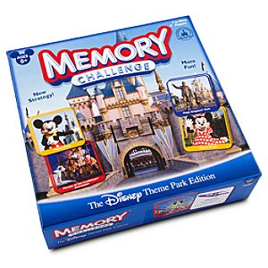 Disney Theme Park Memory Challenge Game