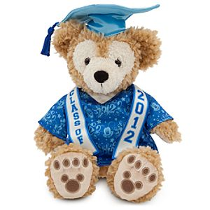 Grad Nite 2012 Duffy the Disney Bear Plush Toy -- 12 H