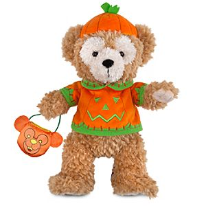Halloween Duffy the Disney Bear Plush Toy -- 12 H
