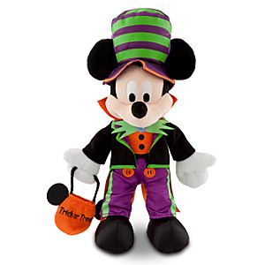 Halloween Time Mickey Mouse Plush -- 12 H