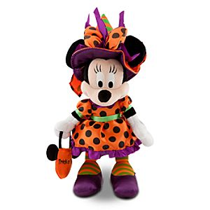Halloween Time Minnie Mouse Plush -- 13 H