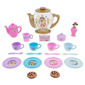 Disney Princess Tea Set -- 24-Pc.