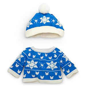 Duffy the Disney Bear Winter Sweater Costume - 17