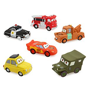 Cars Squeeze Toy Set -- 6-Pc.