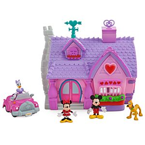 Mickeys Toontown Minnie Mouse Micro Play Set