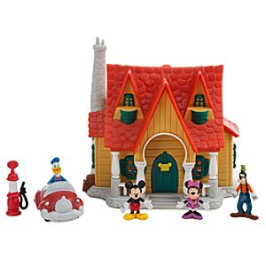 Mickeys Toontown Mickey Mouse Micro Play Set