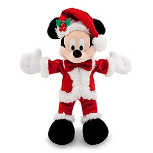 Mickey Mouse Plush - Holiday - 7
