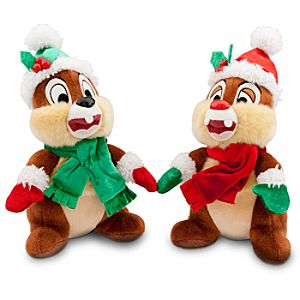 Chip an Dale Plush Set - Holiday - 7