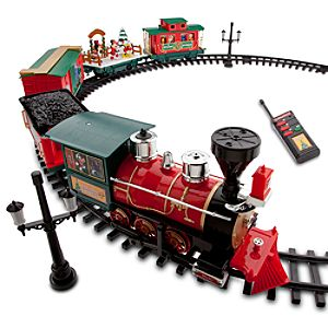 Disney Parks Christmas Train Set