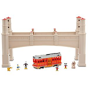 Disney California Adventure Monorail Play Set Accessory - Hyperion Bridge
