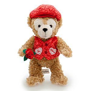 Duffy the Disney Bear Plush Toy - 9 - Valentines Day
