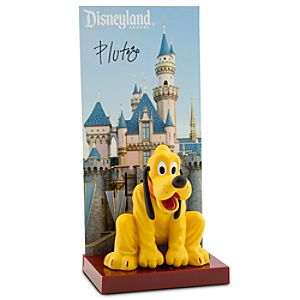 Pluto Figurine - Disneyland