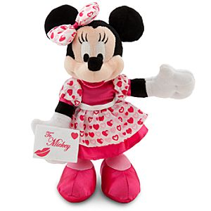 Minnie Mouse Plush - 9 - Valentines Day