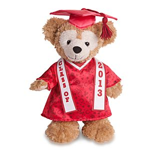 "Duffy the Disney Bear 2013 Graduation Plush - 12"" H"
