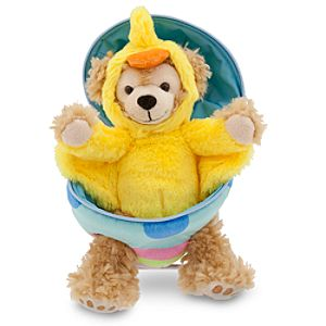 Duffy the Disney Bear Easter Egg Plush - 9 H