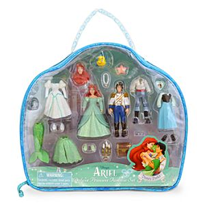 Ariel Figurine Deluxe Fashion Play Set