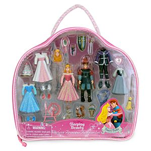 Sleeping Beauty Figurine Deluxe Fashion Play Set