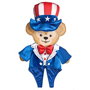 Duffy the Disney Bear 4th of July Costume -- 17 H