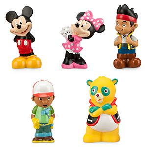 Disney Junior Squeeze Toy Set
