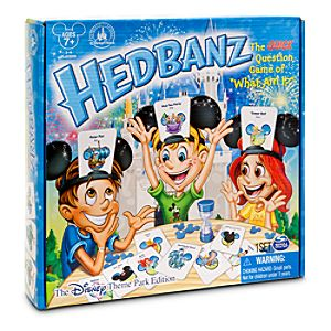 Hedbanz Game - Disney Theme Park Edition