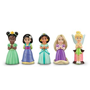 Disney Princess and Fairies Squeeze Toy Set