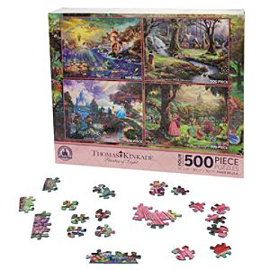 Disney Princess Puzzle Set by Thomas Kinkade