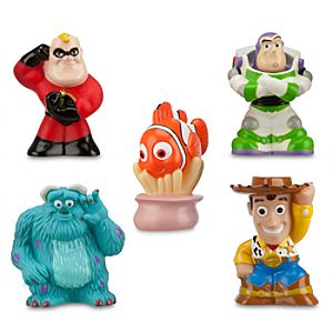 Disney/Pixar Squeeze Toy Set