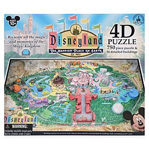 Disneyland 4D Puzzle