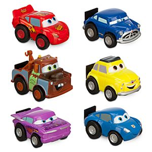 Cars Nano Racers Set