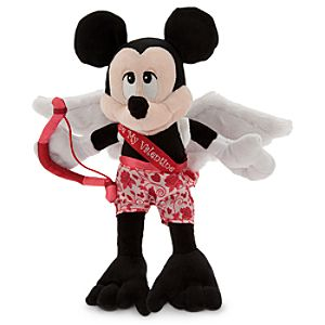 Mickey Mouse Cupid Plush - Valentines Day - 9