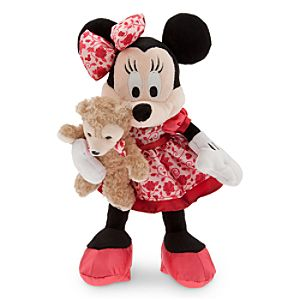 Minnie Mouse with Duffy Plush - Valentines Day - 9