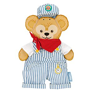 Duffy the Disney Bear Train Engineer Costume - Walt Disney World - 17