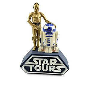 R2-D2 and C-3PO Star Tours Bank